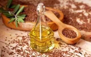 Одно из средств для лечения псориаза — льняное масло