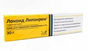 Мазь Локоид Липокрем от неприятных симптомов большинства кожных заболеваний