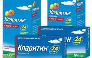 Инструкция по применению Кларитина, состав таблеток и сиропа