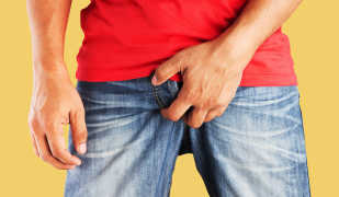 Как определить и лечить псориаз на мужском члене?