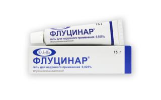 Гормональное средство наружного применения препарата Флуцинар