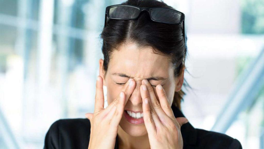 Заболевание органов зрения