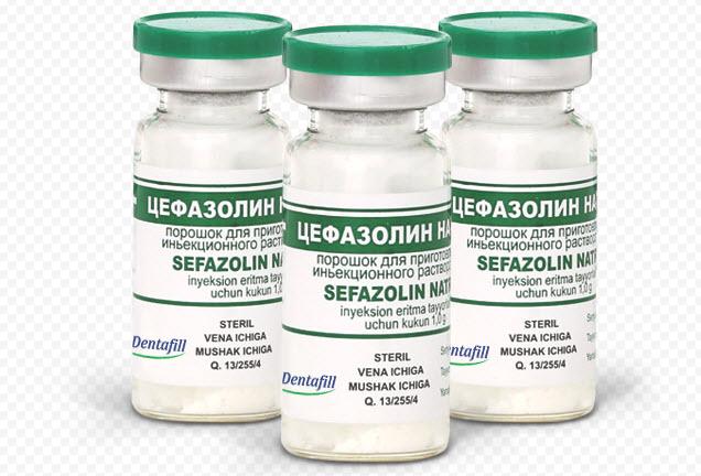 Цефазолин (1 г): инструкция по применению, показания. (Другие названия: Цефазолин)
