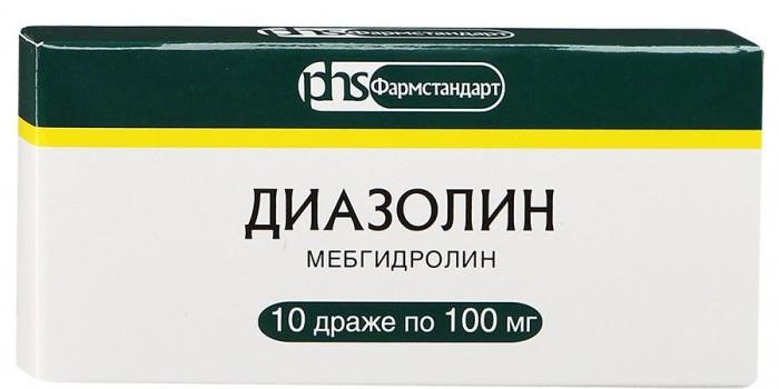 Цена Диазолина