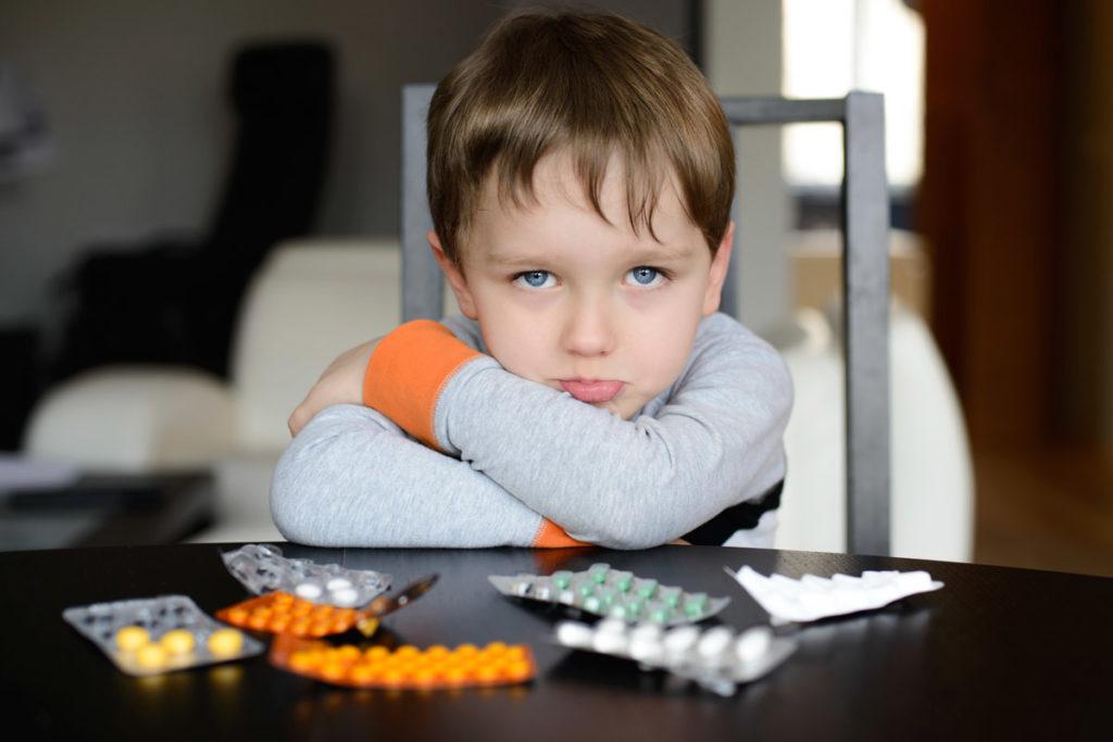 Недостаточный объём данных для детей