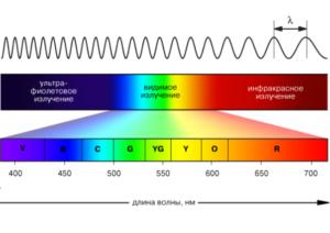 Виды лучей ультрафиолетовой лампы