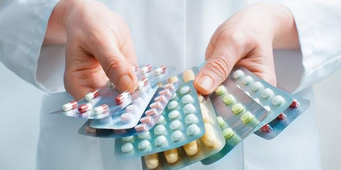 Антибиотики и пробиотики при псориазе