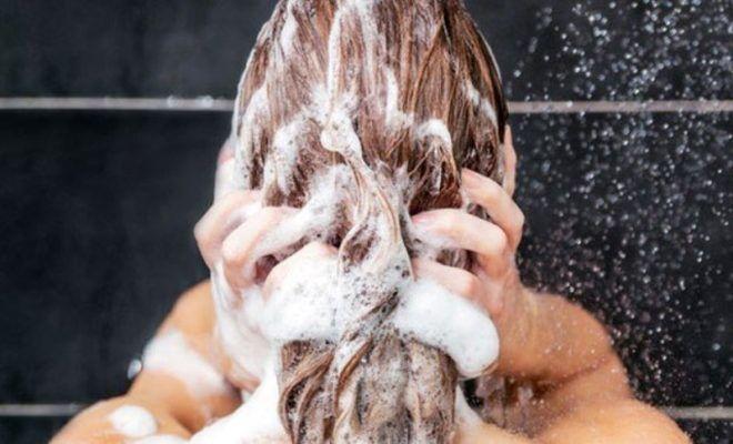 Применение шампуней